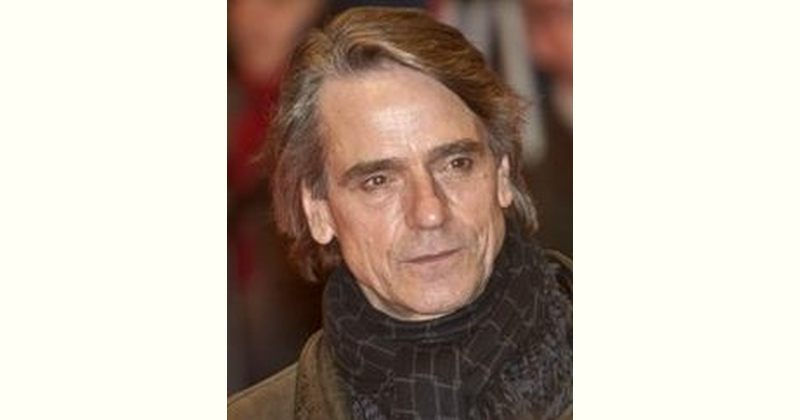 Jeremy Irons Age and Birthday