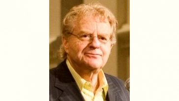 Jerry Springer Age and Birthday