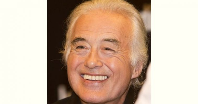 Jimmy Page Age and Birthday