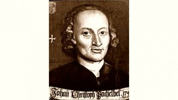 Johann Pachelbel Age and Birthday