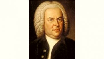 Johann Sebastian Bach Age and Birthday