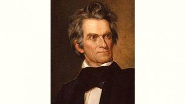 John C. Calhoun Age and Birthday