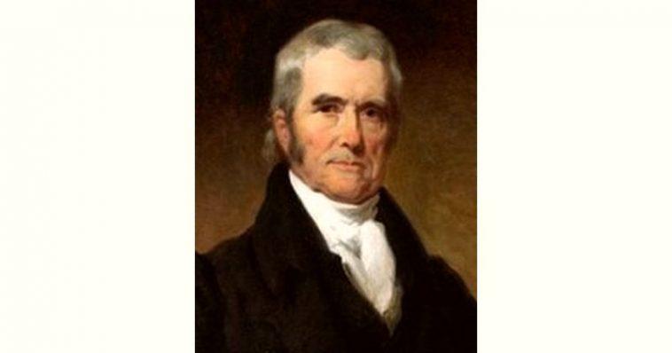 John Marshall Age and Birthday
