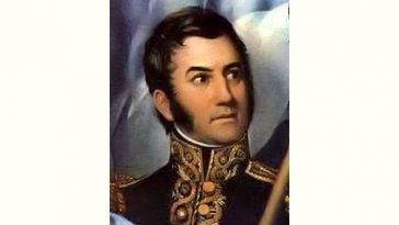 José de San Martín Age and Birthday