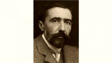 Joseph Conrad Age and Birthday