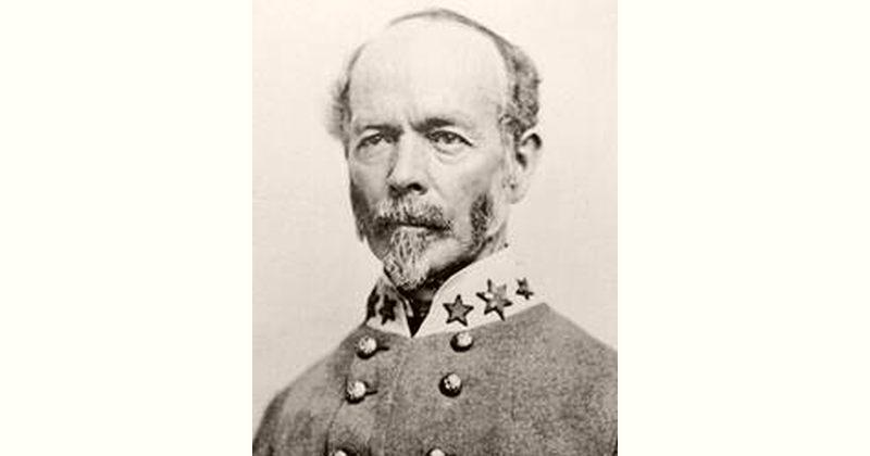 Joseph E. Johnston Age and Birthday