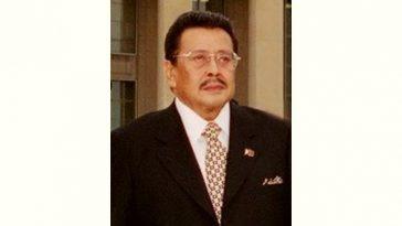 Joseph Estrada Age and Birthday