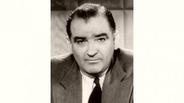 Joseph McCarthy Age and Birthday
