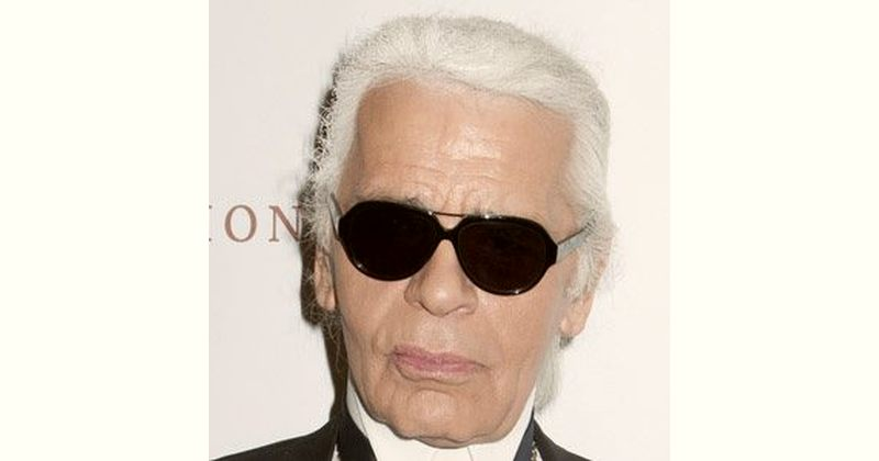 Karl Lagerfeld Age and Birthday