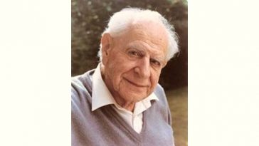 Karl Popper Age and Birthday