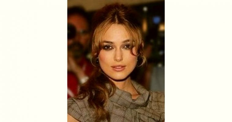 Keira Knightley Age and Birthday