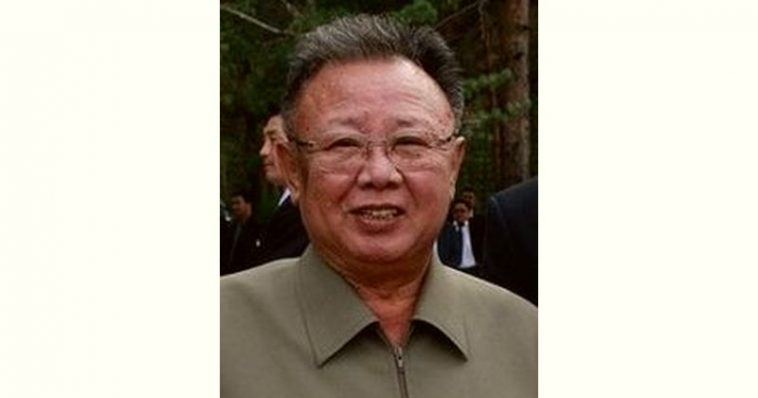 Kim Jong-il Age and Birthday