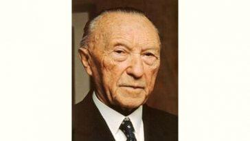 Konrad Adenauer Age and Birthday