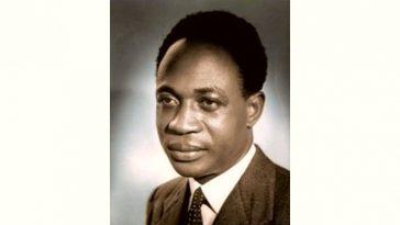Kwame Nkrumah Age and Birthday