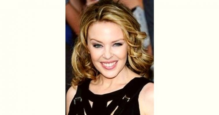 Kylie Minogue Age and Birthday