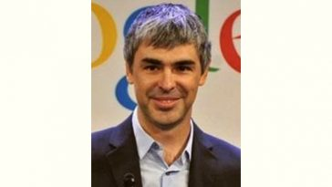 Larry Page Age and Birthday