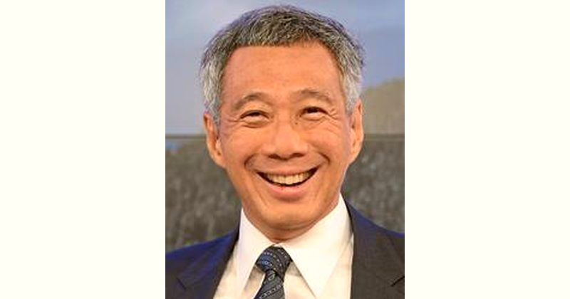 Lee Hsien Loong Age and Birthday