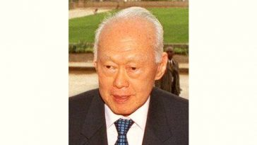 Lee Kuan Yew Age and Birthday