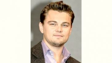 Leonardo DiCaprio Age and Birthday