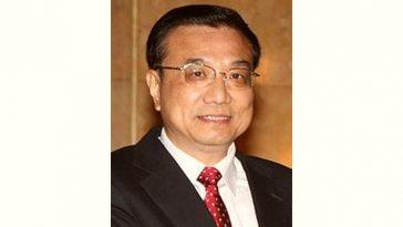 Li Keqiang Age and Birthday