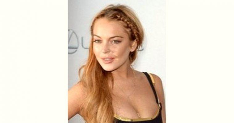 Lindsay Lohan Age and Birthday