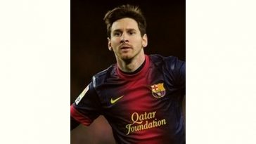 Lionel Messi Age and Birthday