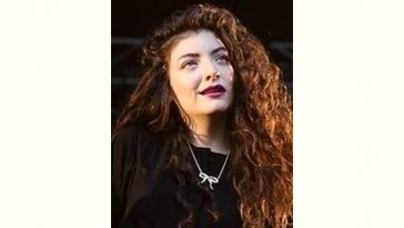 Lorde Age and Birthday