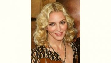 Madonna Age and Birthday