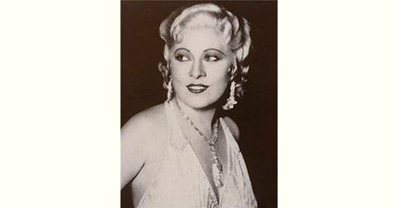 Mae West Age and Birthday