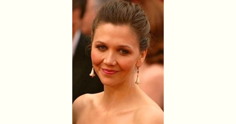Maggie Gyllenhaal Age and Birthday
