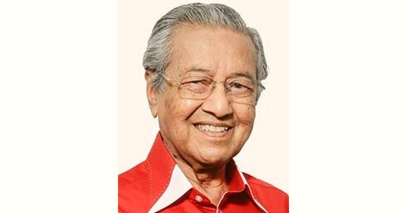 Mahathir bin Mohamad Age and Birthday