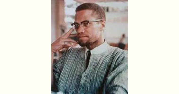 Malcolm X Age and Birthday