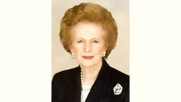 Margaret Thatcher Age and Birthday