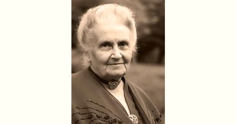Maria Montessori Age and Birthday