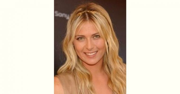 Maria Sharapova Age and Birthday