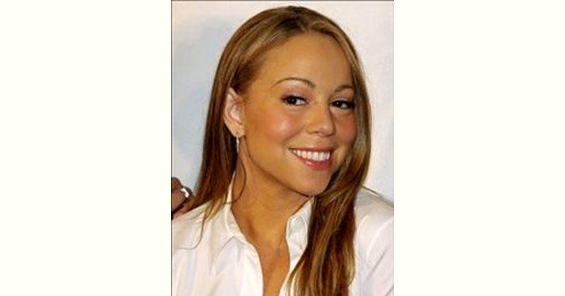 Mariah Carey Age and Birthday