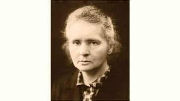Marie Curie Age and Birthday