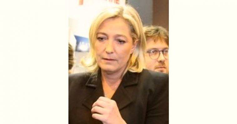 Marine Le Pen Age and Birthday