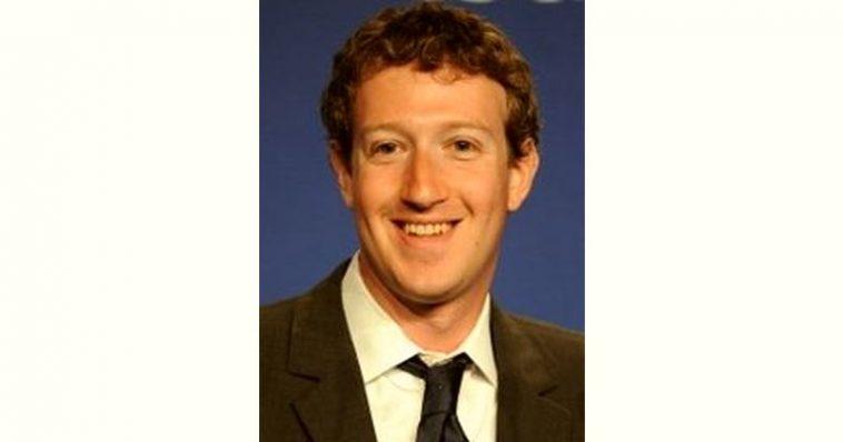 Mark Zuckerberg Age and Birthday