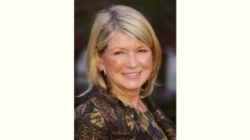 Martha Stewart Age and Birthday