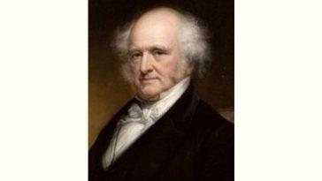 Martin Van Buren Age and Birthday