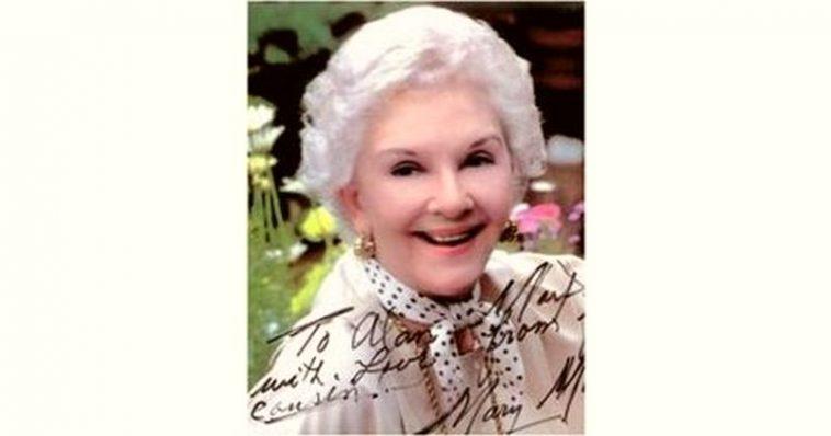 Mary Martin Age and Birthday