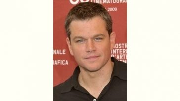 Matt Damon Age and Birthday