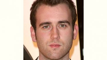 Matthew Lewis Age and Birthday