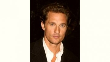 Matthew Mcconaughey Age and Birthday