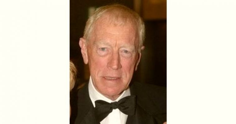 Max Von Sydow Age and Birthday