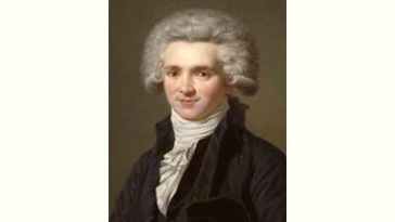 Maximilien Robespierre Age and Birthday