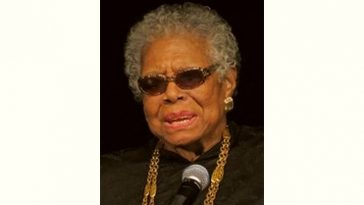 Maya Angelou Age and Birthday