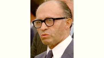 Menachem Begin Age and Birthday