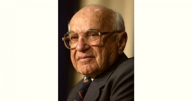 Milton Friedman Age and Birthday